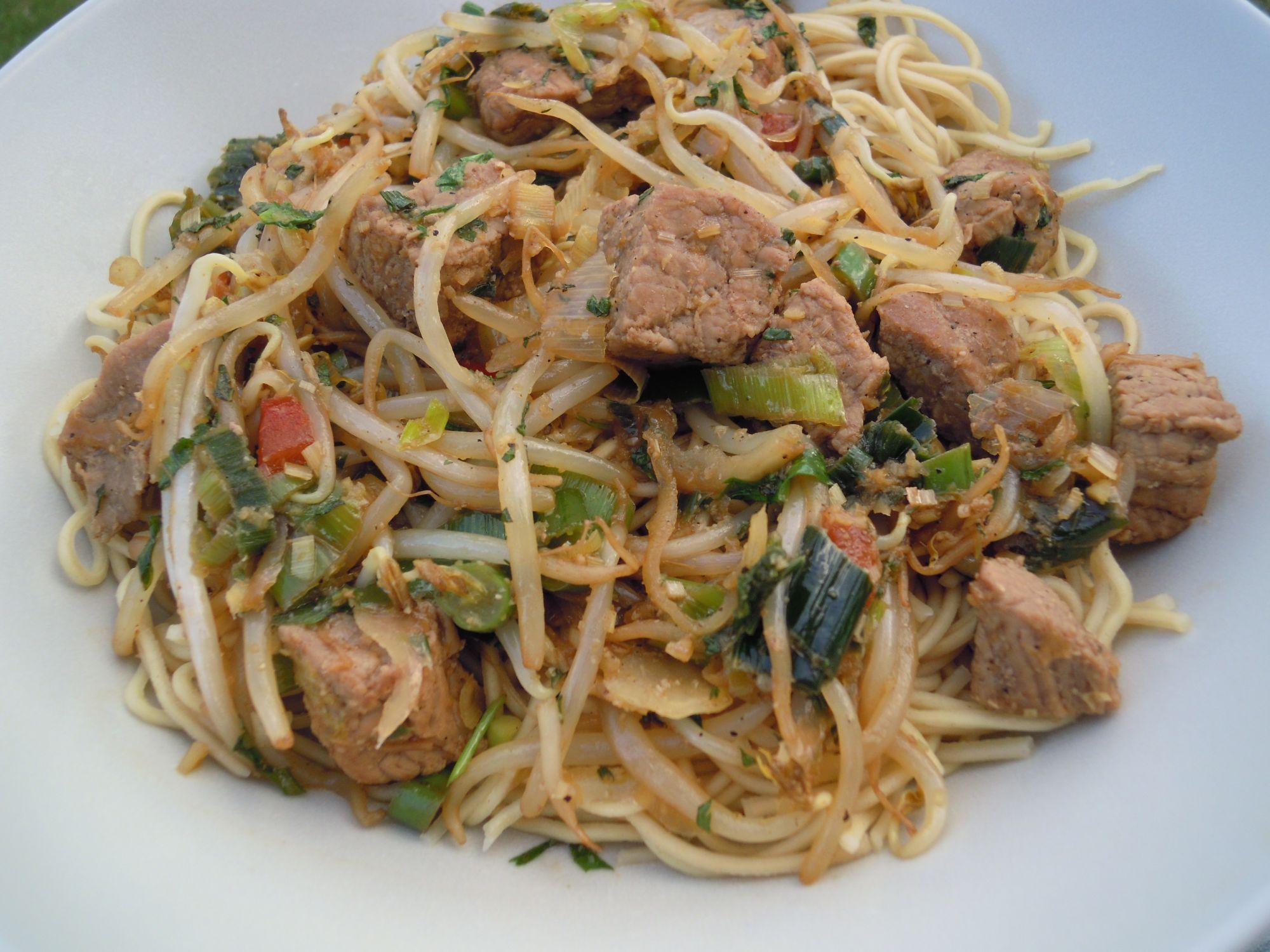 wok recept